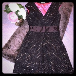 🌈Milly of NY SUMPTUOUSLY Thick Tweed Dress, 6 EUC